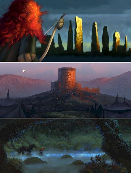 pixar brave concept art. Pixar also confirmed that the