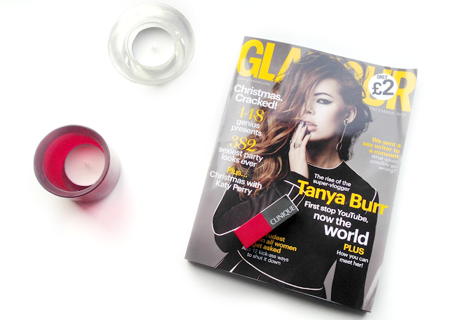 Glamour Clinique Freebies, Tanya Burr