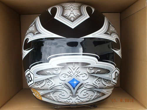 used shoei raid ii templar crash helmet nuevo design. Black Bedroom Furniture Sets. Home Design Ideas