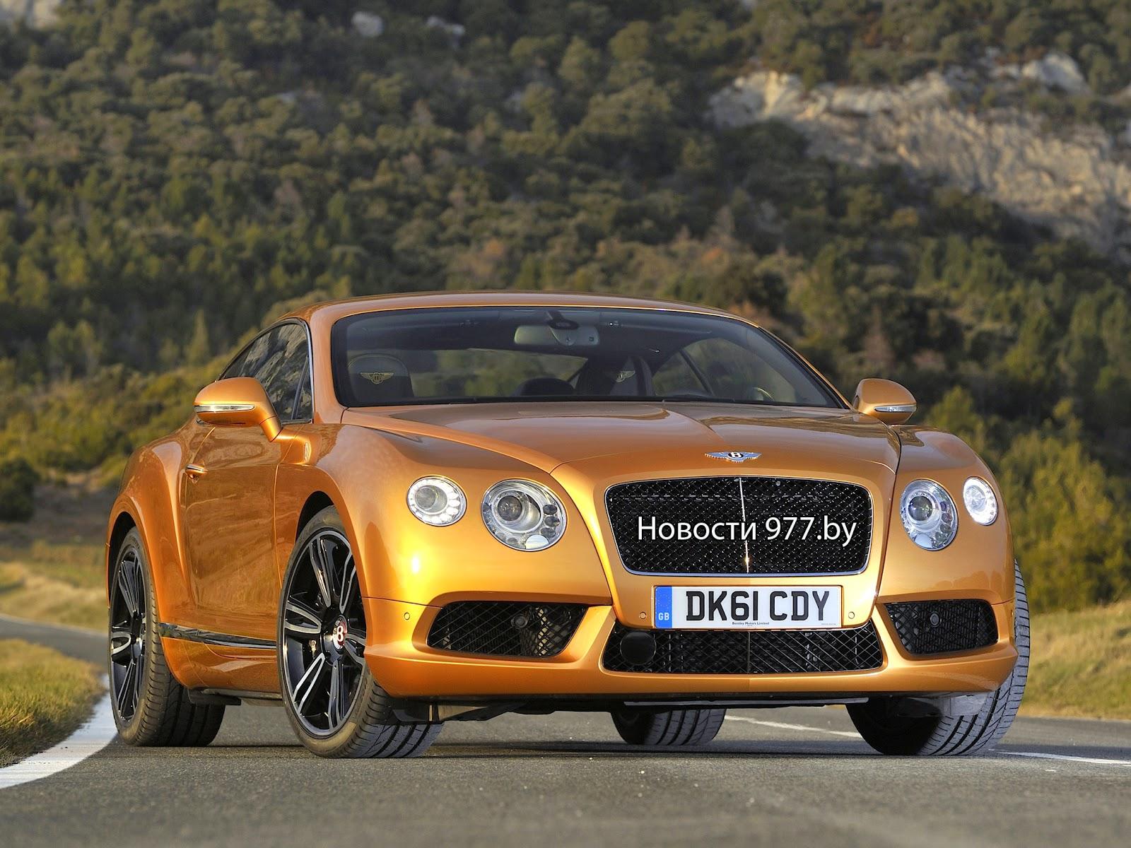 Bentley с задним приводом