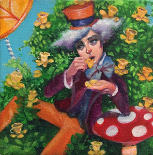 World of pure imagination by Celene Petrulak