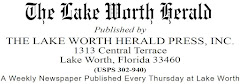 The Lake Worth Herald. A real, true community newspaper: