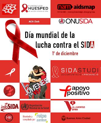 Día Mundial Lucha contra el Sida - 1 de Diciembre