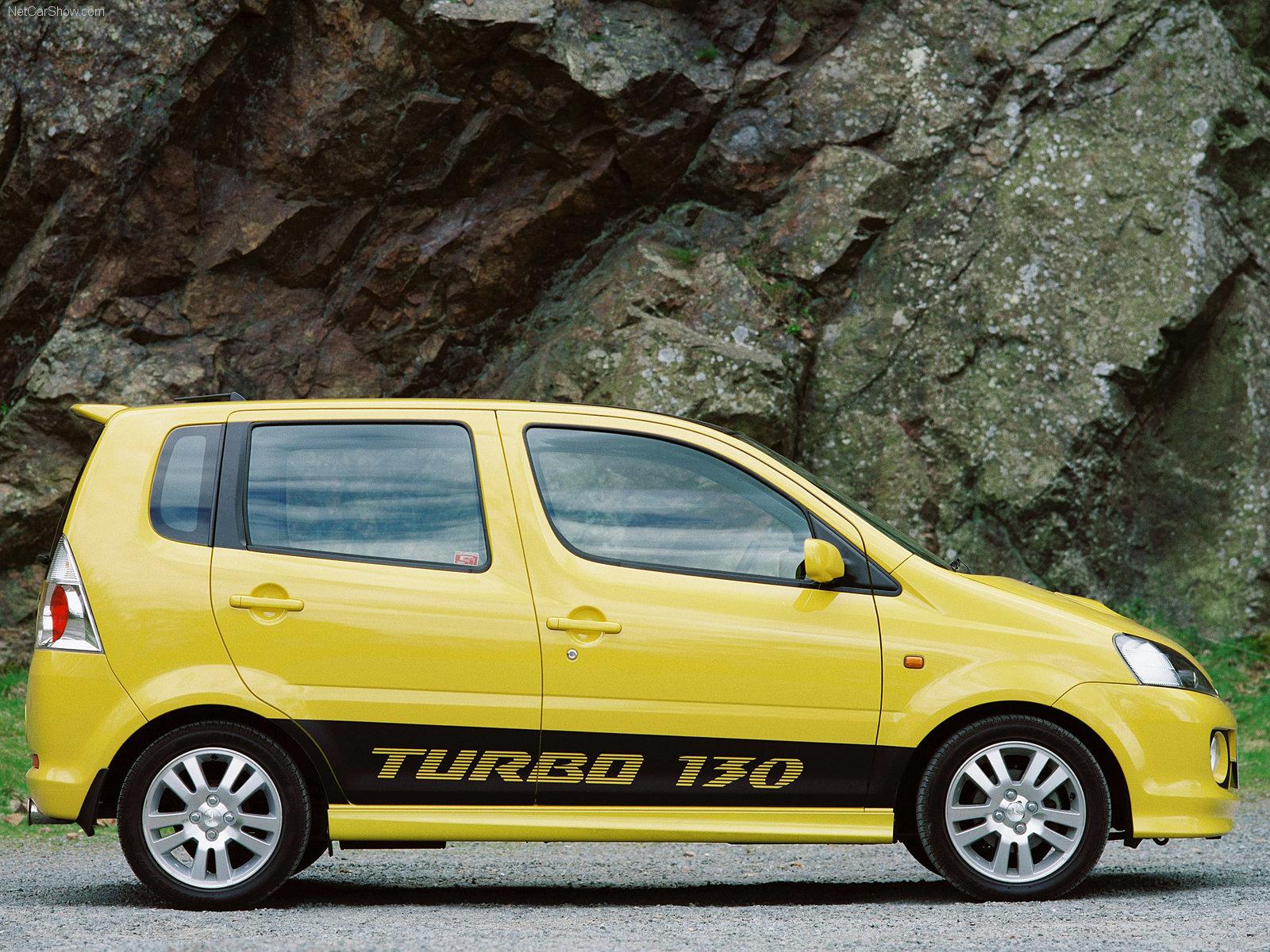 Hình ảnh xe ô tô Daihatsu YRV Turbo 130 2004 & nội ngoại thất