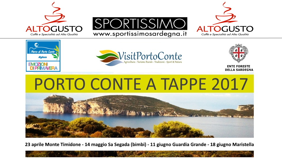 Porto Conte a Tappe 2017 - Camminata - Gara podistica - Fitwalking