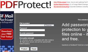 Agregar contraseñas a archivos PDF