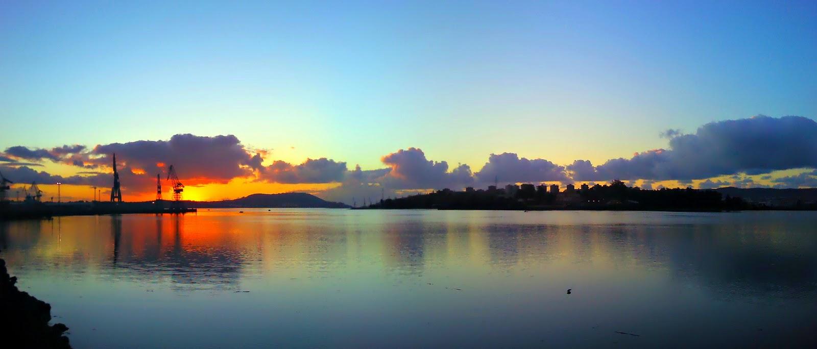 : Panorámicas de la Ría de Ferrol...