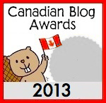 Winner of a Silver Medal for the Best Family Blog in the Canadian Blog Awards 2013