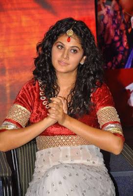 tapsee gorgeous at dharuvu audio launch cute stills