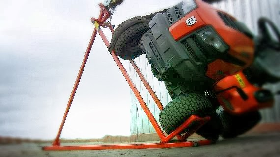 Podnośnik do traktorka