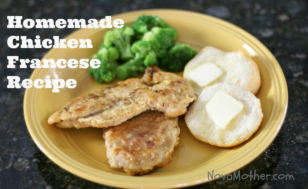 Easy Homemade Chicken Francese Recipe