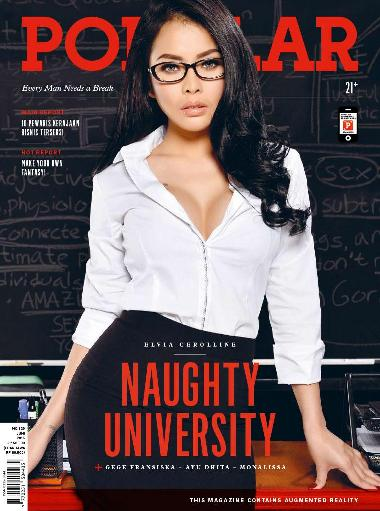 Download Majalah Popular Indonesia No. 329 - Juni 2015 Private Class with Miss Elvia Cerolline | Elvia Cerolline, Gege Fransiska, Ayu Ditha, Mona Lissa | www.insight-zone.com