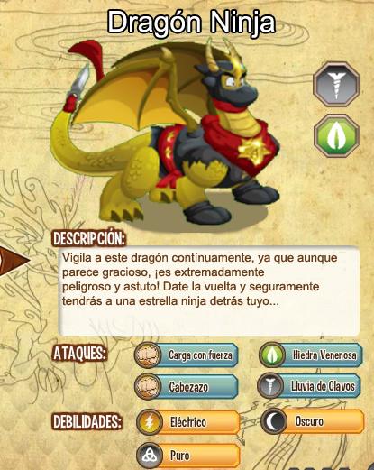 todas las estadisticas del dragon ninja