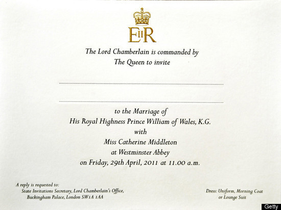 royal wedding invite 2011. royal wedding invitation 2011.