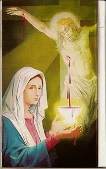 Jesus e a punhalada - sua mãe