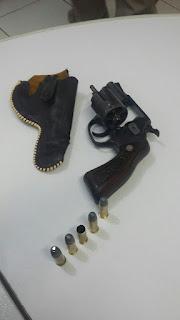 Homem é preso por porte de arma de fogo, disparo em via pública e lesão corporal em Picuí
