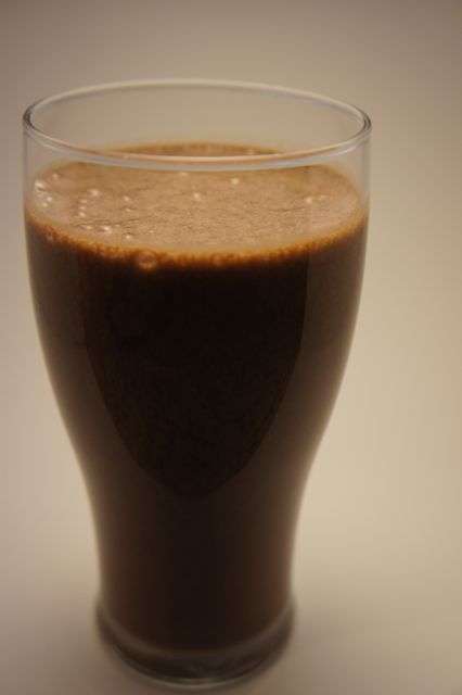 1 Scoop Chocolate Shakeology Cup Almond Milk Coconut Or Water 2 Frozen Bananas 5 Big Dashes Cinnamon Splash Rum Extract