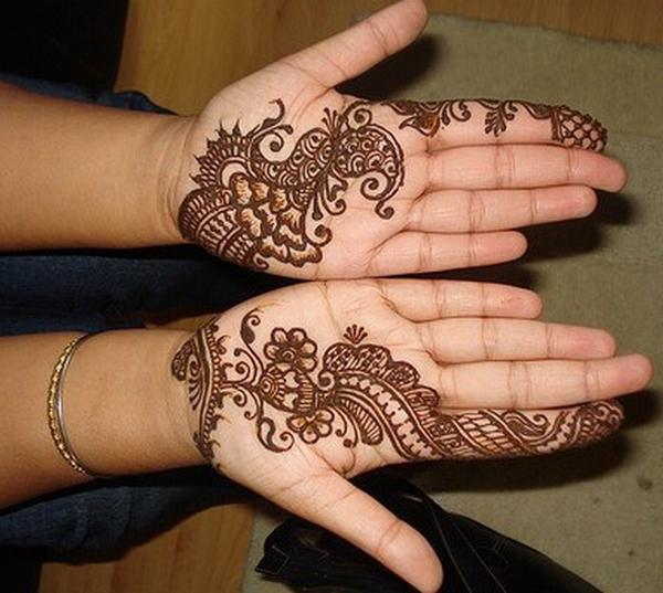 Hand Mehndi Tips : Women beauty tips simple mehndi designs for hands