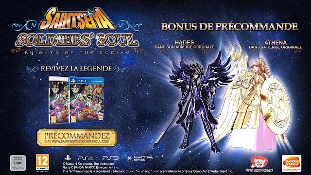 Saint Seiya : Soldiers' Soul - Bonus de précommande