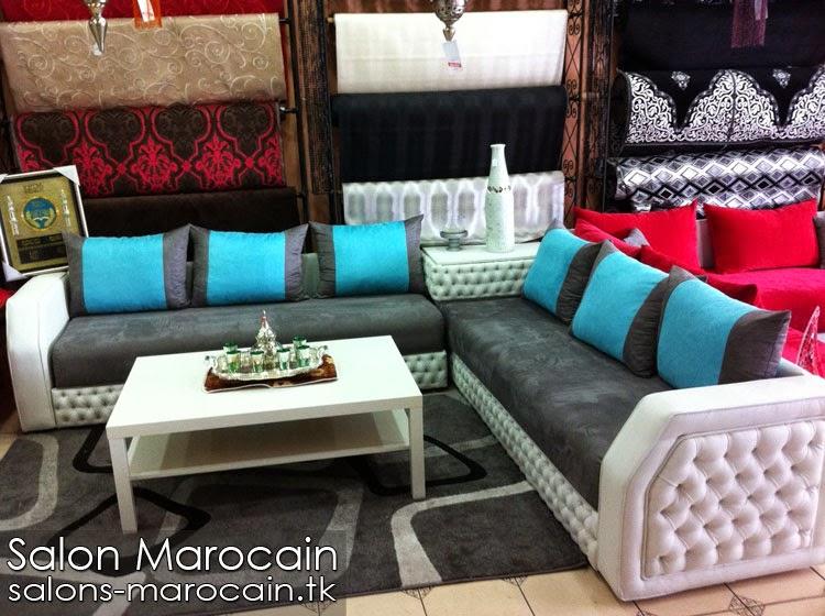 Coussin salon marocain decoration marocaine - Faire un salon marocain ...