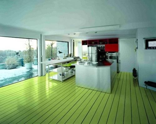 salah satu faktor penting dalam merancang rumah dambaan kita Memilih Warna Lantai Rumah Minimalis