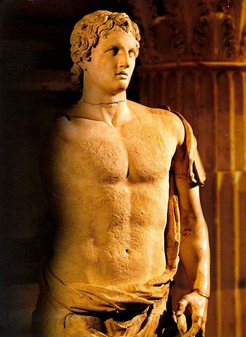 Alejandro Magno de Macedonia (356 a.C -323 a.C)