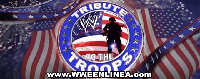 ver wwe tribute to the troops en vivo 19 de diciembre del 2012 donde