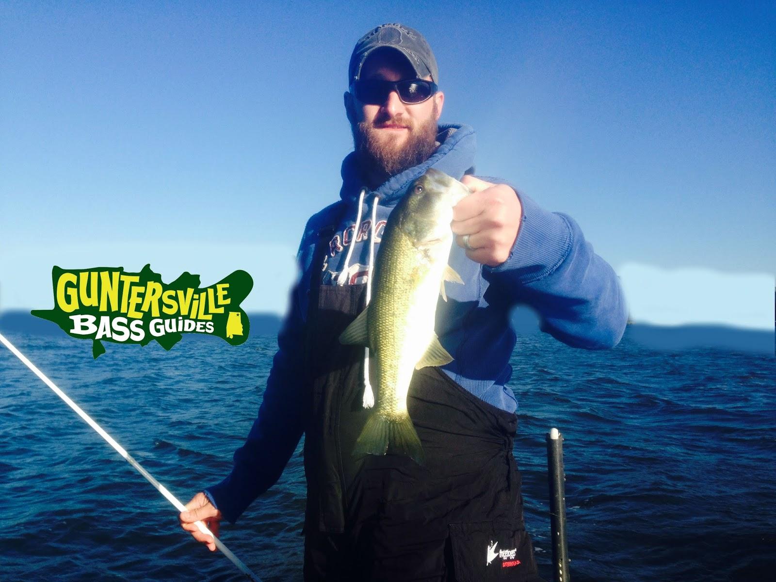 Lake guntersville fishing report guntersville bass guides for Fishing forecast alabama