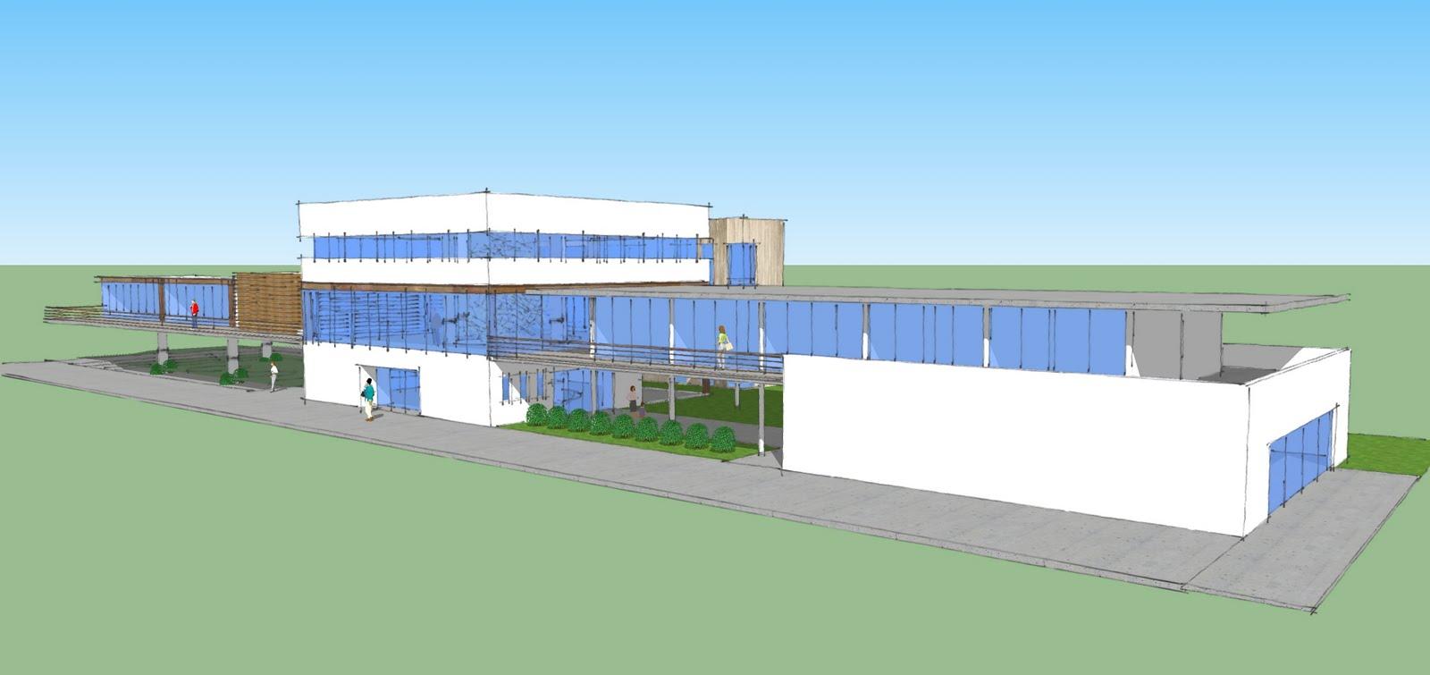 Proceso de dise o arquitectonico escuela superior de for Proyectos de construccion de escuelas