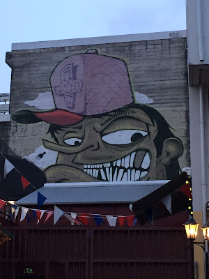 Reykjavik Face Mural