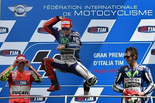 MOTO GP - Jorge Lorenzo (Yamaha) se impuso con suma facilidad en el Gran Premio de Italia en Mugello