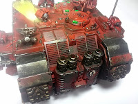 LAND RAIDER BLOOD ANGELS - WARHAMMER 40000 7