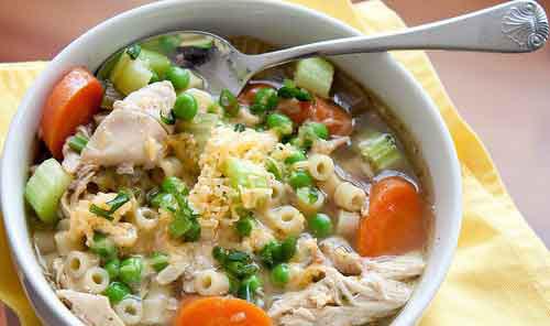 Sup ayam hangat