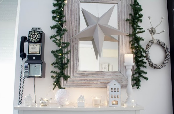 Xmas White at Home! Feliz Navidad!