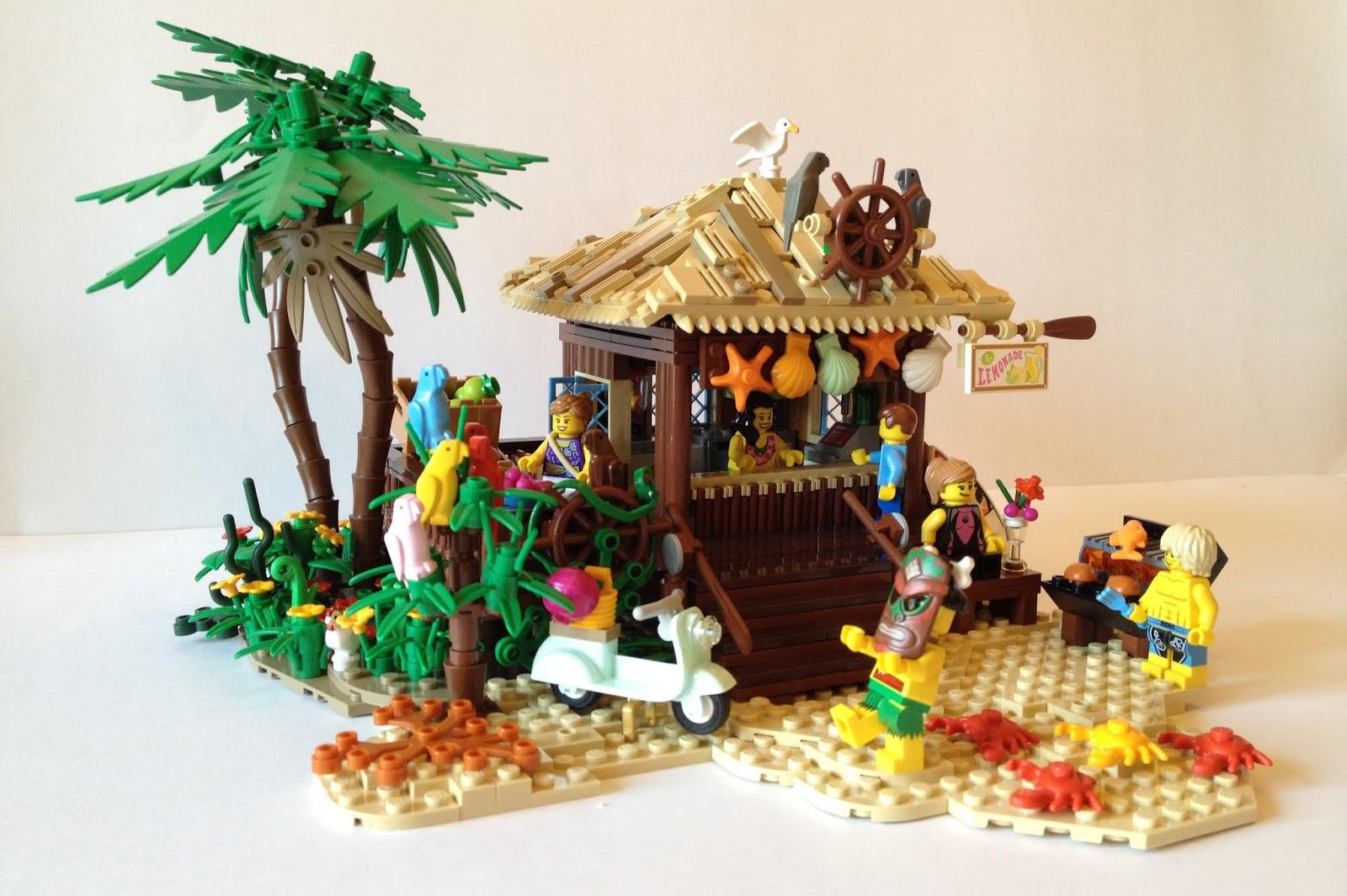 the brickverse: ideas: tropical beach hut