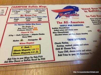 Buffalo's Wings N' Things