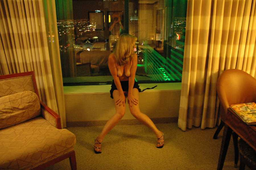 A Conference in Las Vegas. Her husband gives her permission to have fun.