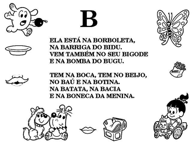 textos monica letra b