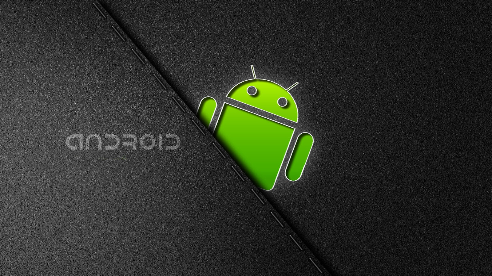 Green Android Wallpaper in HD