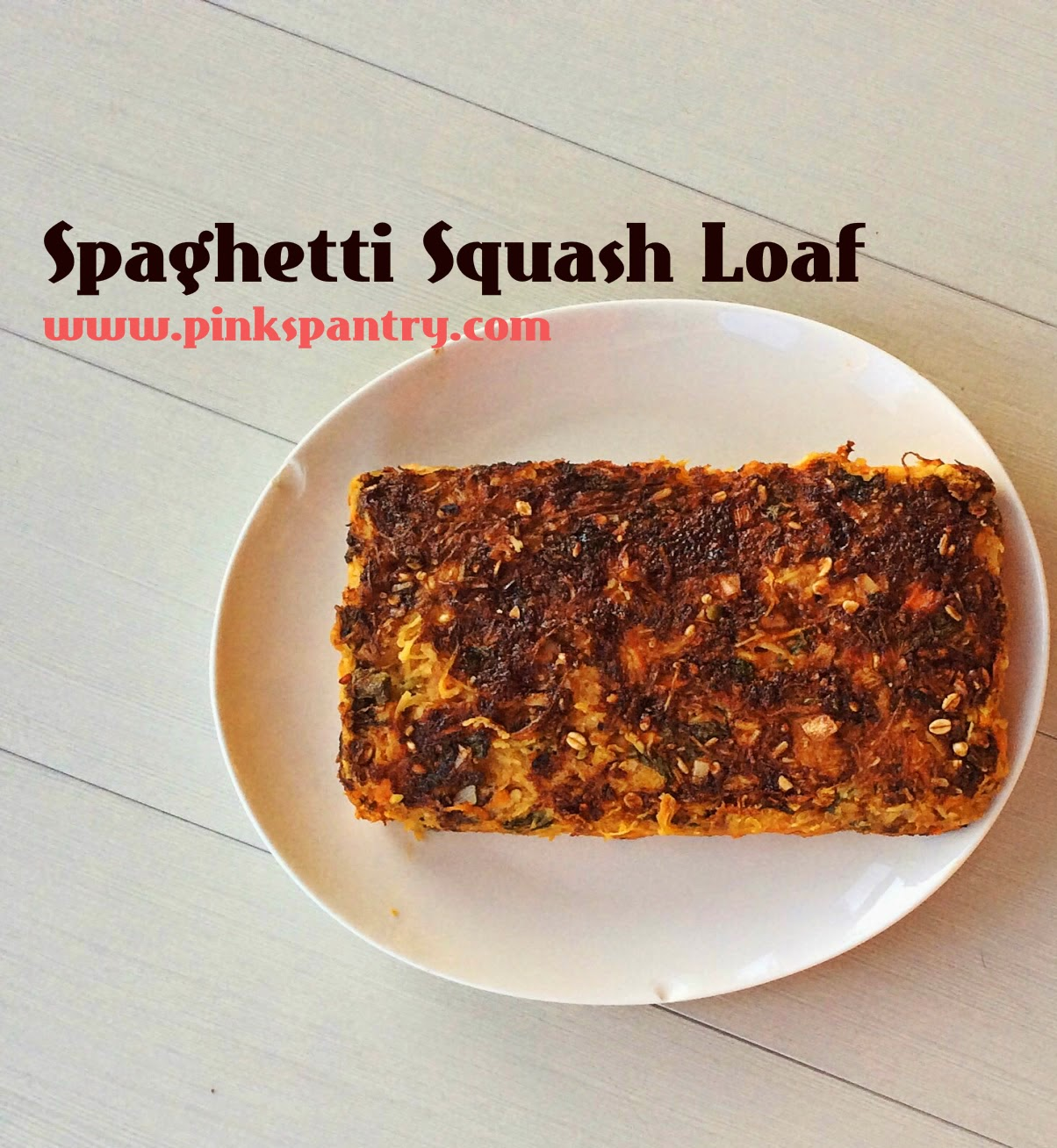 spaghetti squash loaf