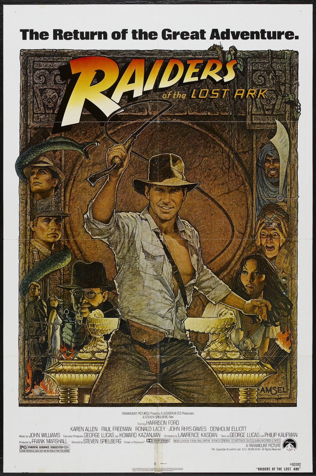 Happyotter: RAIDERS OF THE LOST ARK (1981)