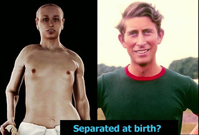 King Tut Prince Charles separated at birth funny