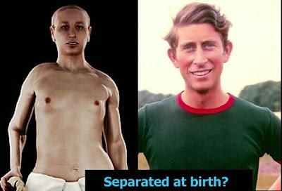 King Tut Prince Charles separated at birth funny
