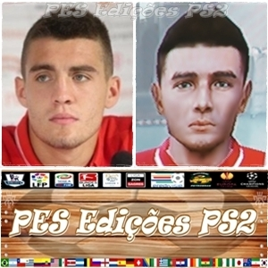 Mateo Kovacic (Real Madrid) e Croácia - PES PS2