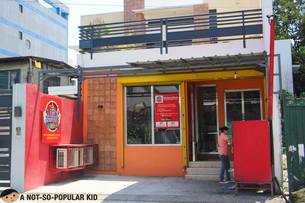 Big Daddy Jay's Hole-in-the-Wall restaurant in Cubao, Quezon City