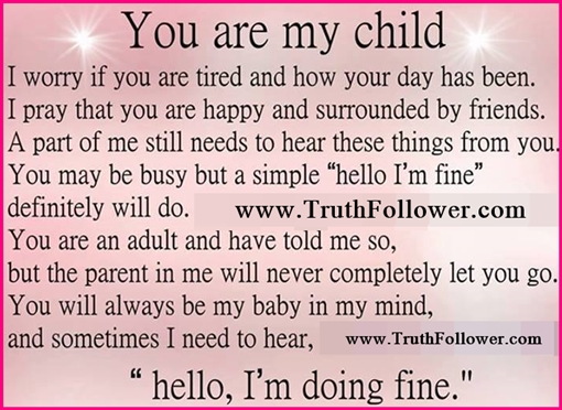 I Love You Quotes To My Daughter : you are my child, My World My Child Quotes with Inspirational Pics