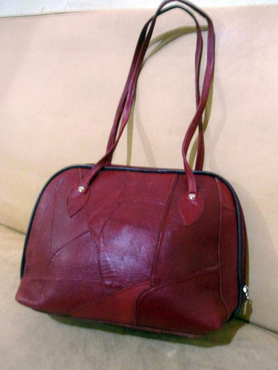 Bolsa De Couro Legitimo Vermelha : Brech? chita bonita eternizando estilos bolsa vermelha