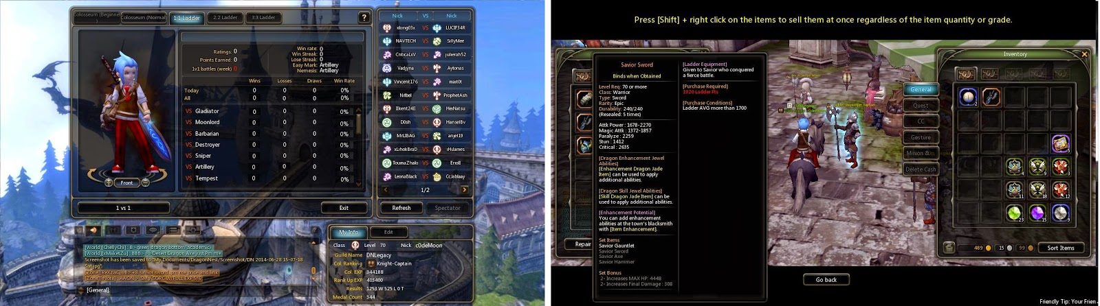 Dragon nest sea how to get weapon of darkness exchange coupon