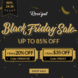 Rosegal Black Friday 2017