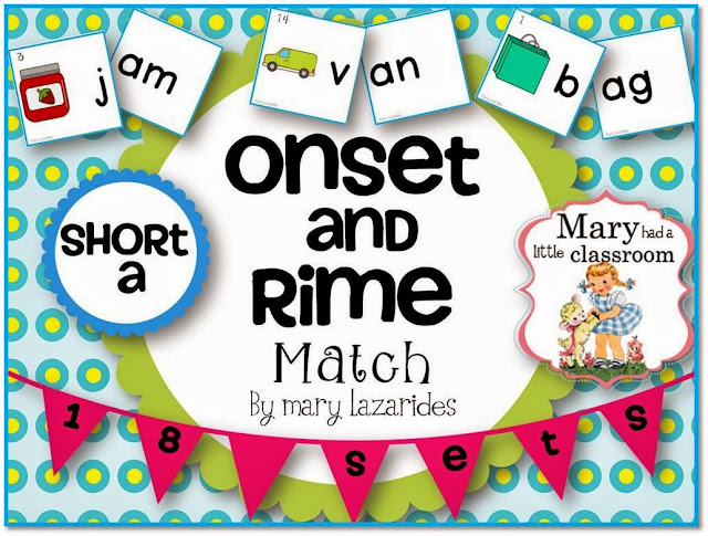 Mary Had A Little Classroom: Onset and Rimes : Five Free Games for ...